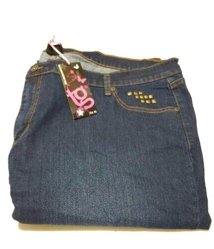 Ladies authentic TG denim jeans with stud detail plus dress Size 30 NewDress