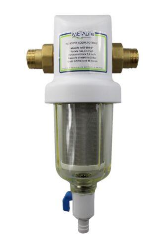 Rückspülfilter MEC 316    1 Zoll = 33,7 mm   Wasserfilter  Vorfilter