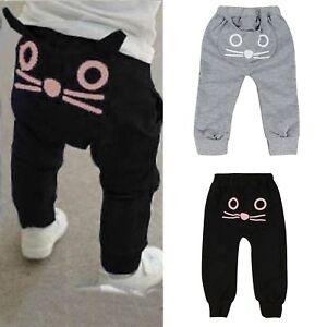 Kids-Baby-Boys-Elastic-Harem-Pants-Toddler-Trousers-Leggings-Joggers-Sweatpants
