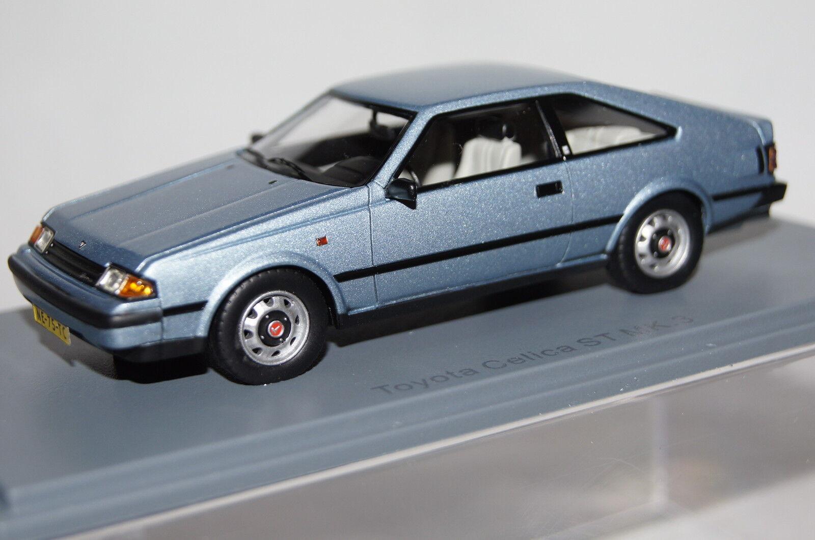 Toyota Celica St mk3 blu claro metalizado 1 43 neo nuevo & OVP 43775