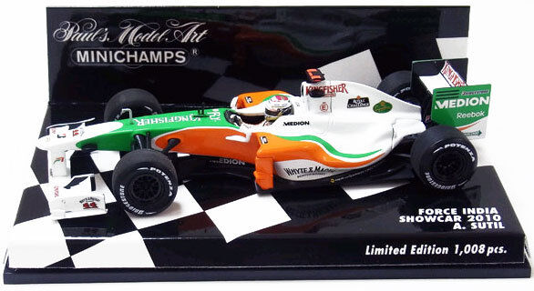 Minichamps Force India Showcar 2010-Adrian Sutil 1/43 SCALA