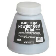 16 Oz Powder Coat Paint Matte Black Same Day Free Shipping