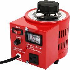 500va 5amp Variac Variable Transformer Powerstat Ac Voltage Regulator 0 130 Volt