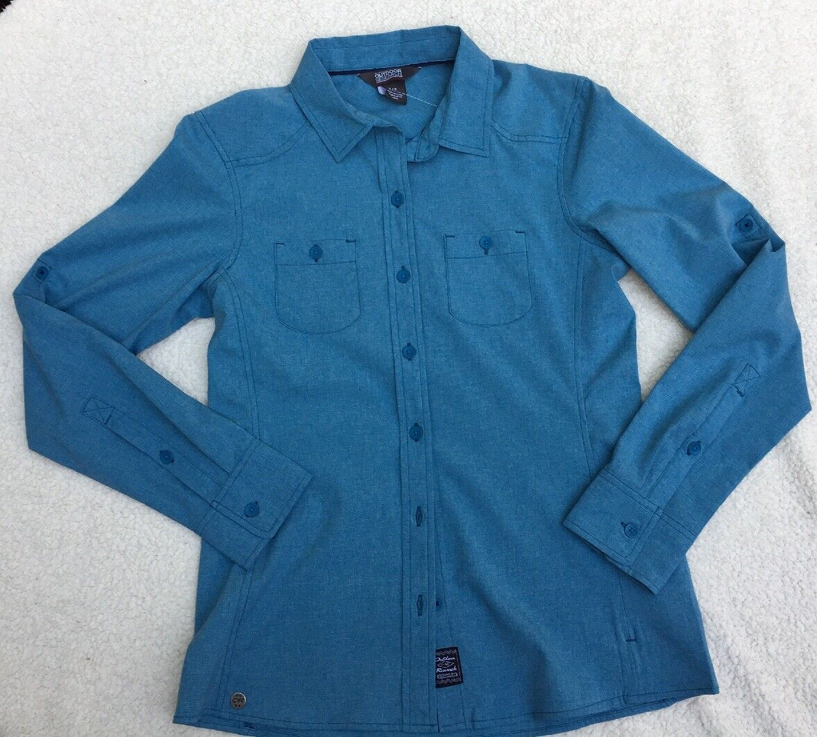 OR Outdoor Research Womens S Reflection L S UPF 50+ Travel Shirt - NWT