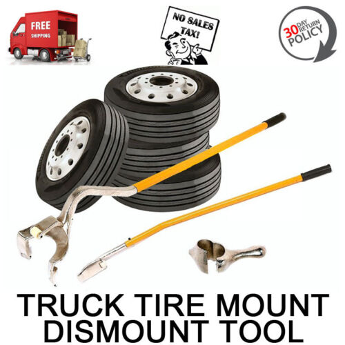 NEW TIRE CHANGER TOOL DEMOUNT MOUNT DISMOUNT REMOUNT BIG LARGE TRUCK SEMI BUS