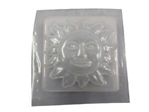 Sun Border Trim Tile Plaque Concrete Cement Mold Set of  2 -6013 Moldcreations