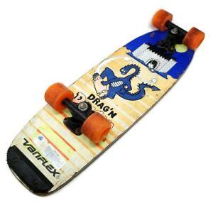Variflex-80s-Old-School-Drag-039-n-Dragon-Skateboard-Vintage