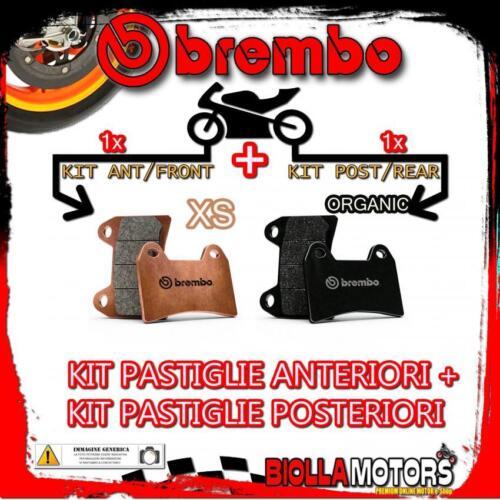 BRPADS-48756 KIT PASTIGLIE FRENO BREMBO KYMCO PEOPLE S 2006-125CC XS+ORGANIC