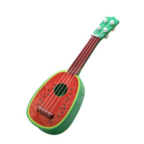 Cute Fruit Musical Guitar ukulele Instruments Toys Children Educational Gifts US