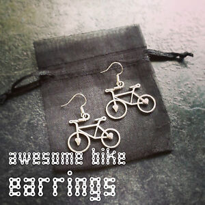 Bike Earrings Lovely Gift for Cyclists or Bike Rider Present Ear XT Necklace XC - London, United Kingdom - Bike Earrings Lovely Gift for Cyclists or Bike Rider Present Ear XT Necklace XC - London, United Kingdom