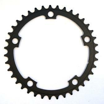 Alloy 39T Road Crank Small Chainring 5-Bolt 10Spd 130BCD 130PCD BLACK