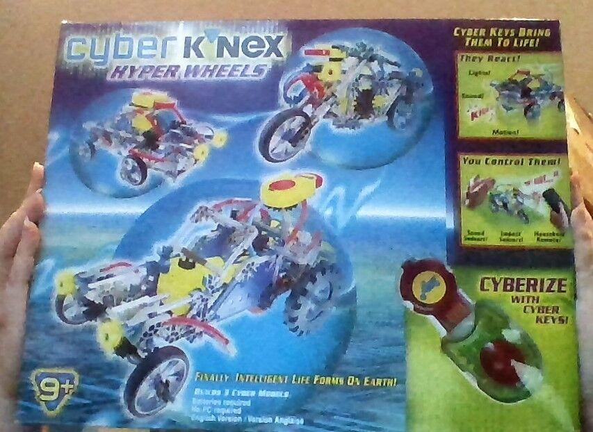 Cyber K'NEX Hyper Wheels, KNEX SET Vintage, Collectible & Rare SEALED