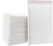 6x10 Inches Matte White Self Seal Shipping Padded Envelopes Poly Bubble Mailers
