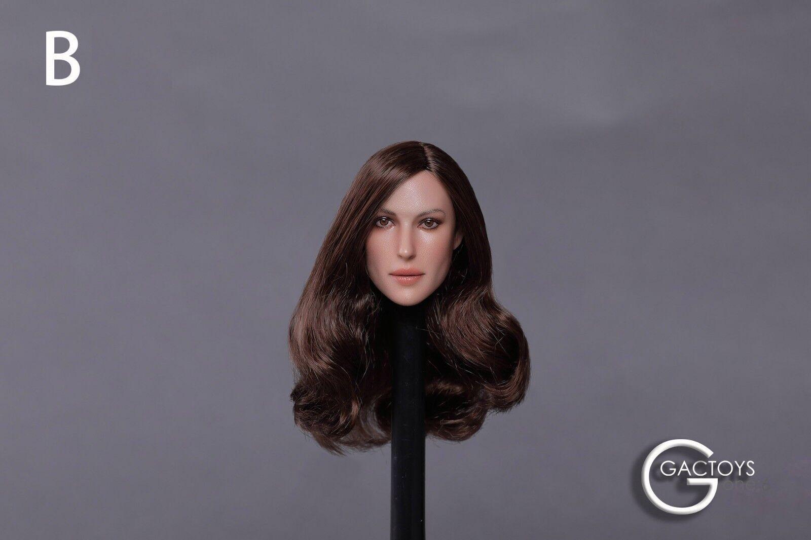 1 6 Female Head Head Head Sculpt For 12  Figure Hot Toys PHICEN Verycool GC020 B ❶USA❶ 615dcc