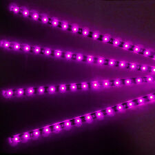4Pcs 15SMD3528 LED Light Strip Waterproof Cuttable For Motorcycle Car For Suzuki
