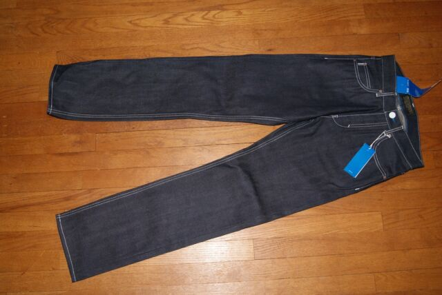 Adidas Originals M Conductor Relaxed Fit JEANS 29/34 30/34 blue rare $160
