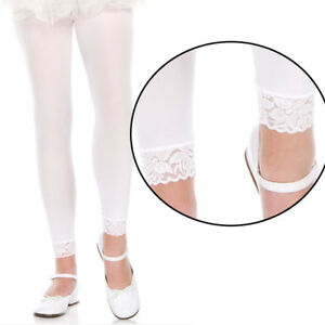 a19bd81586c30 Image is loading Opaque-Solid-White-Tights -Costume-Cosplay-Halloween-Footless-