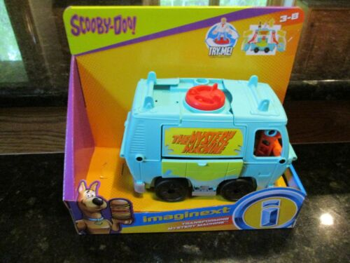 Fisher Price Imaginext transforming mystery machine Scooby Doo Van Vehicle ONLY