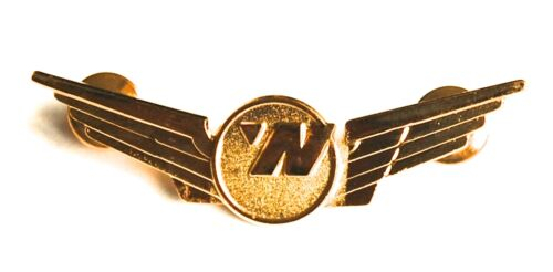 VINTAGE NORTHWEST AIRLINES OFFICIAL PIN UNIFORM WINGS NEW OLD STOCK UNOPENED