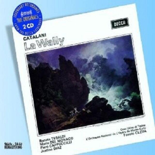 TEBALDI/DEL MONACO/CAPUCILLI/CLEVA/+ - LA WALLY (GA) 2 CD NEU