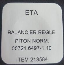ETA Caliber 6497-1 Part Number 721 (Complete Balance)