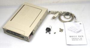 Sansun-SN-WU2A-Festplatten-IDE-Wechselrahmen-HDD-8-9-cm-3-5-Zoll-USB-OVP-NEU