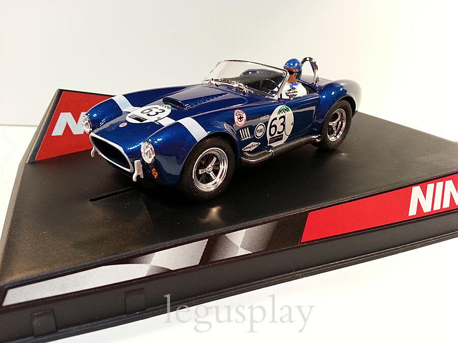 SCX Scalextric Slot Ninco 50303 AC Cobra Le Mans Nº63