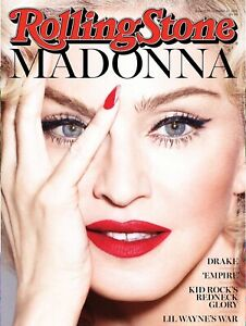 Retro replica vintage style metal tin Man Cave Rolling Stone Madonna