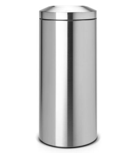Brabantia Papierkorb Flame Guard Mülleimer Le Tube Edelstahl poliert Chrom