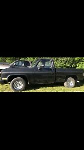 81 Chev c10 short box