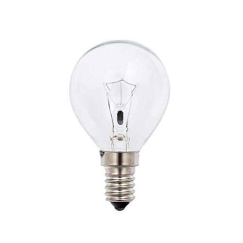 1 X eveready 40W Ofen Lampe Klar Ses E14 240v Herd Glühbirne 300° Grad