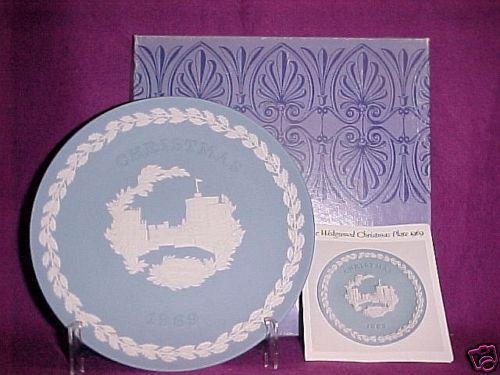 Wedgwood Weihnachtsteller Christmas Plate 1969   | Großer Räumungsverkauf