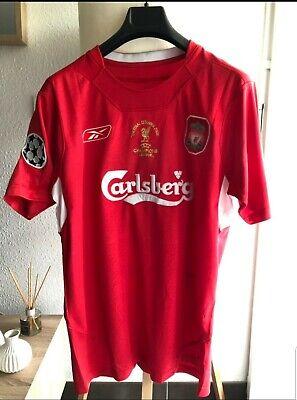 Maillot Final Liverpool-Milan Ligue Champions League 2004//2005 GERRARD N°8