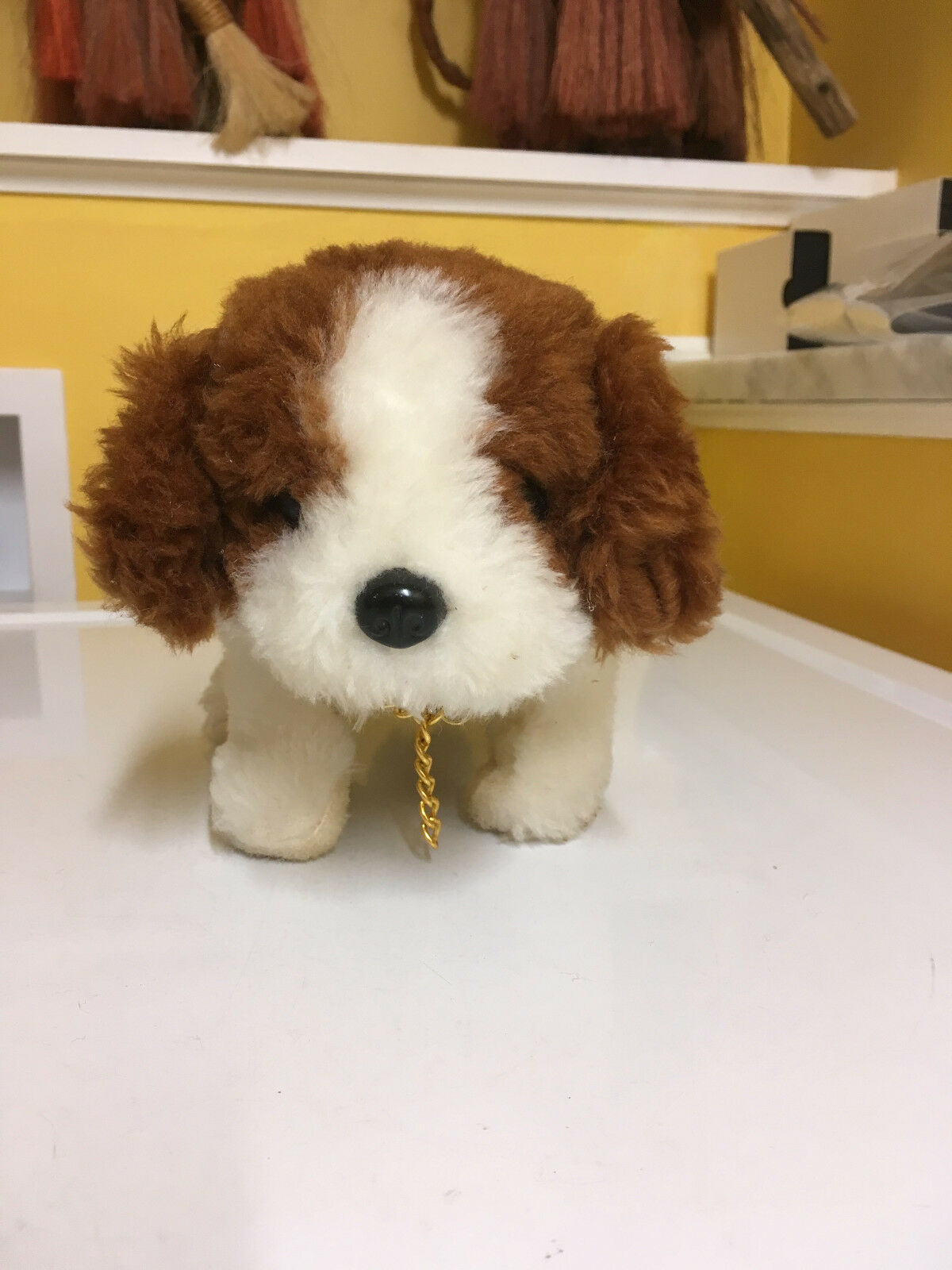 ALPS VINTAGE VINTAGE VINTAGE BATTERY OPERATED DANNY THE ST. BERNARD FULLY WORKING W BOX  SWEET   c6ccd5