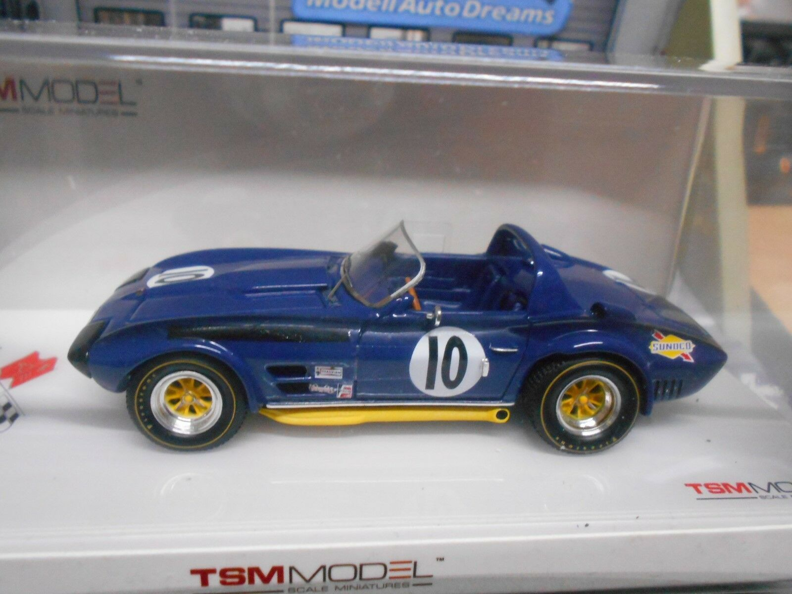 CHEVROLET Corvette c2 GRAND SPORT roadsster 1966 Penske sebri SP resin TSM 1:43