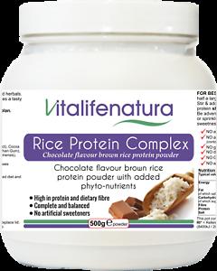 Rice Protein Powder Chocolate Flavour  500 g Powder