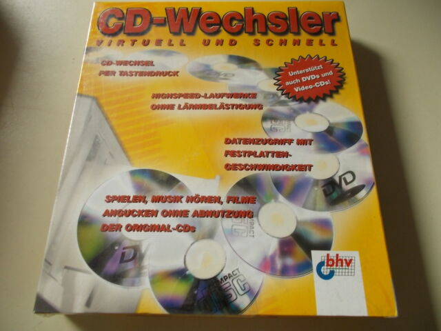 BHV Changeur de CD, F. CD/DVD,Virtuelle lecteurs, #so-40