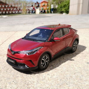 1-18-scale-toyota-C-HR-Chr-red-DIECAST-Car-Model-Toy-Collection-veneno-NIB