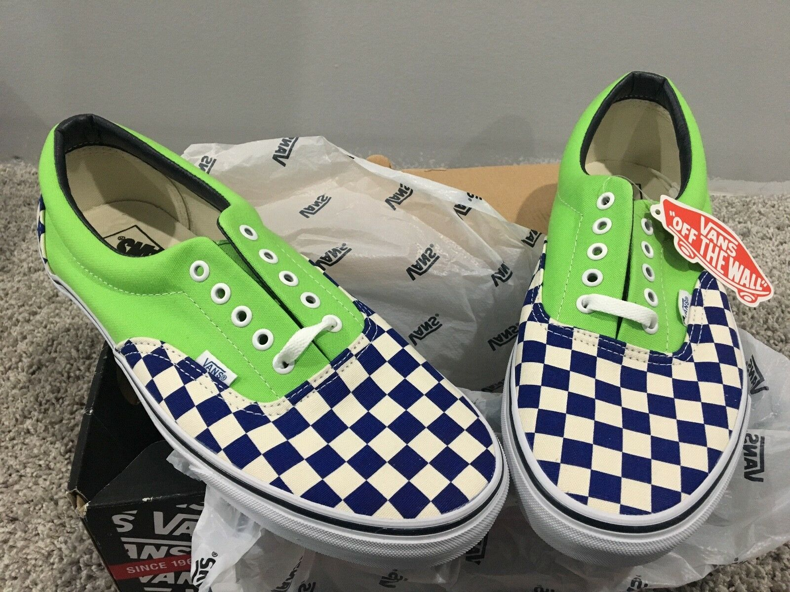 Vans 2Tone Checkers Checkers Checkers Men's shoes 12 e60cc2
