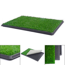 Dog Pet Potty Patio Training Toilet Indoor Grass Mat Balcony Porch ...