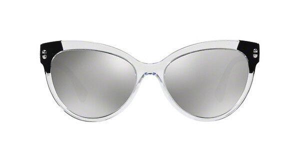 268b8327d957 Authentic Versace Sunglasses Women Ve 4338 Clear 52436g Ve4338 for sale  online