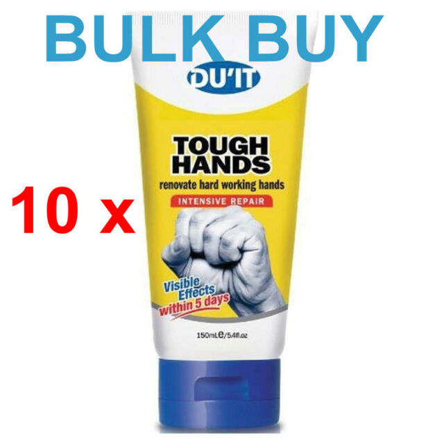 BULK BUY-10 x DU-IT TOUGH HANDS INTENSIVE REPAIR 150ML(Promotion Price)