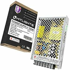 Hitlights 12vdc Power Supply 150w 125a Universal Regulated Switching Power C