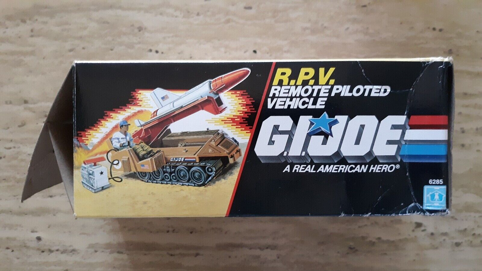 Vintage GI Joe 1988 R.P.V. R.P.V. R.P.V. Hasbro Remote Piloted Vehicle  FREE ACTION FIGURE   df9016