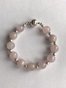 Healing-Crystal-Gemstone-Bracelet-Rose-Quartz-Love-And-Peace-Bracelet