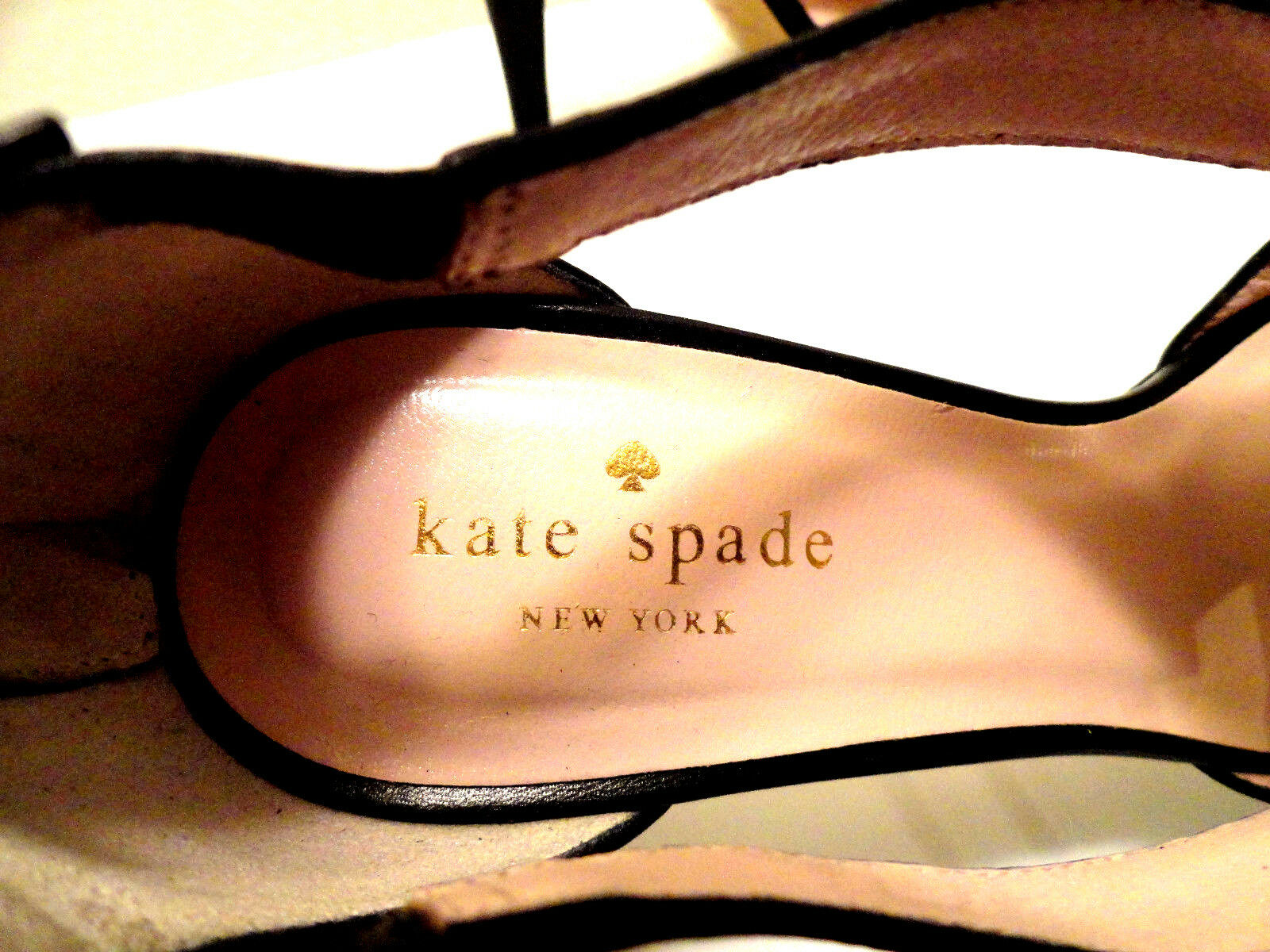 KATE SPADE NEW YORK HIGH HEELS HEELS HEELS schwarz 8B 596549