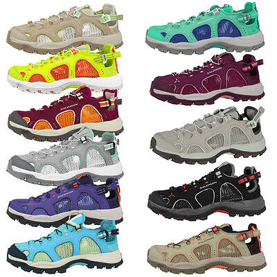 SALOMON TECHAMPHIBIAN 3 WOMEN DAMEN OUTDOOR TREKKING SCHUHE SANDALE RUNNING | eBay
