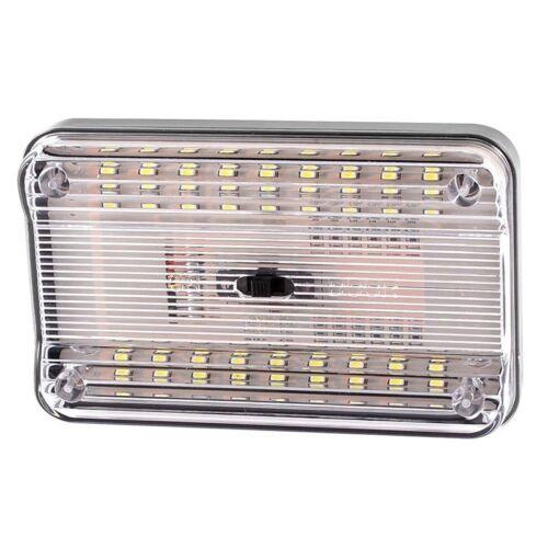 Luz interior de tencho de 36 SMD LED de color blanco E4T1