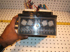 Fiat 1978 131 Coupe Mirafiori under dash USA Main FUSE 1 Box with clear 1 Cover