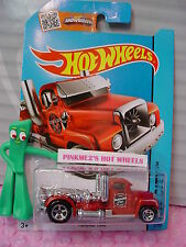 Case C 2015 i Hot Wheels TURBINE TIME #2∞Red/Chrome Rig; Elwoods∞City Works